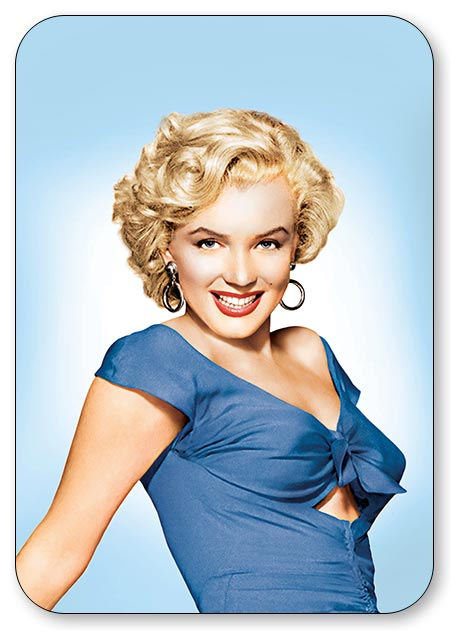 Карманный календарь Gentlemen Prefer Blondes / Джентльмены предпочитают блондинок