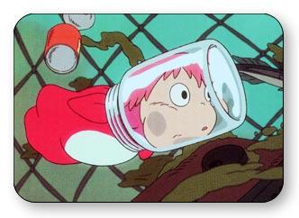 Карманный календарь Gake no Ue no Ponyo / Рыбка Поньо на утесе / Ponyo on the Cliff by the Sea / 崖の上のポニョ