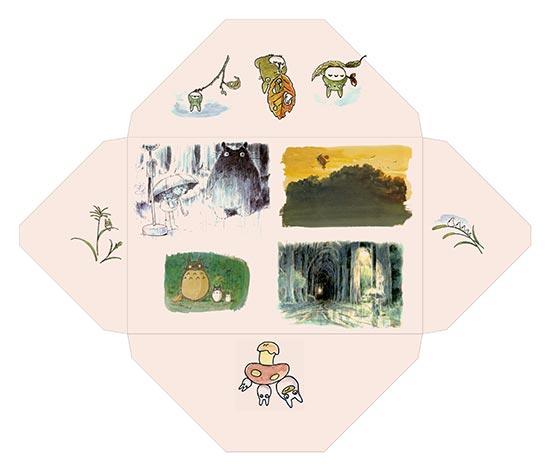 Конверт My Neighbor Totoro / Мой сосед Тоторо / Tonari no Totoro / となりのトトロ