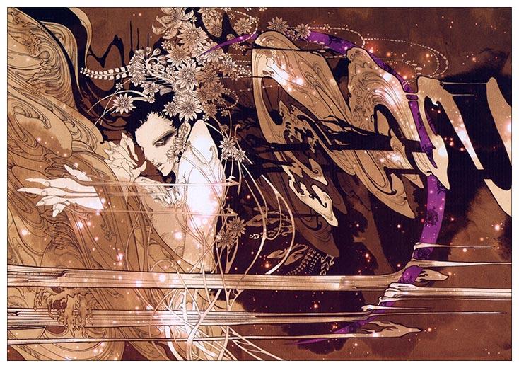 Портретный постер Aya Kato Art / Арт Ая Като