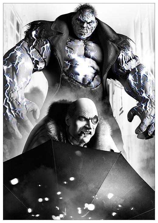 Портретный постер Batman / Бэтмэн