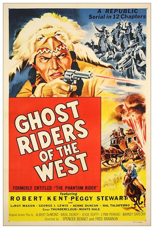 Портретный постер Ghost Riders of the West / Всадники-призраки Запада