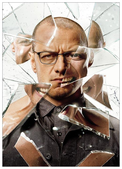 Портретный постер Glass / Стекло