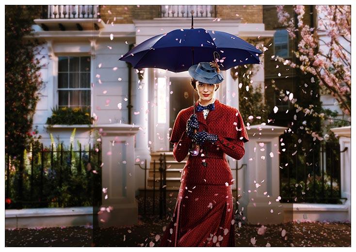 Портретный постер Mary Poppins / Мэри Поппинз