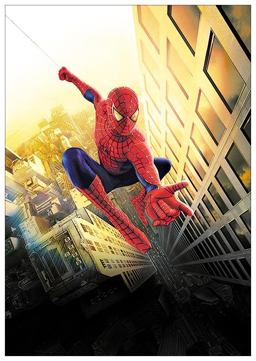 Портретный постер Spider-man / Человек-паук
