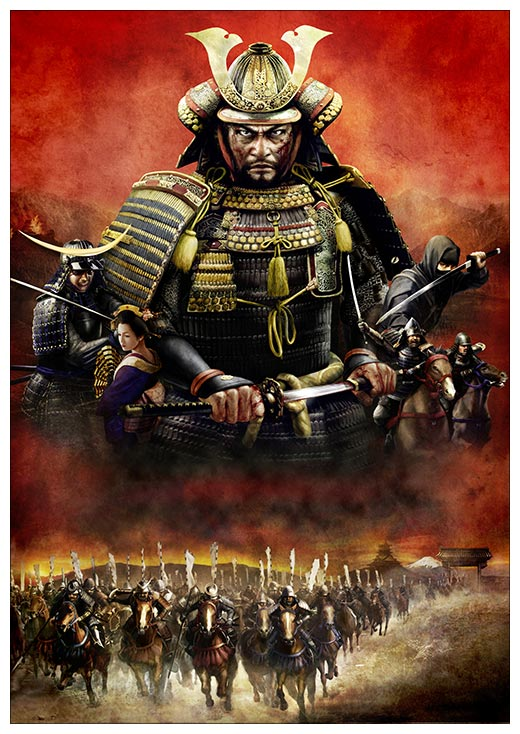 Портретный постер Total War / Всеобщая война