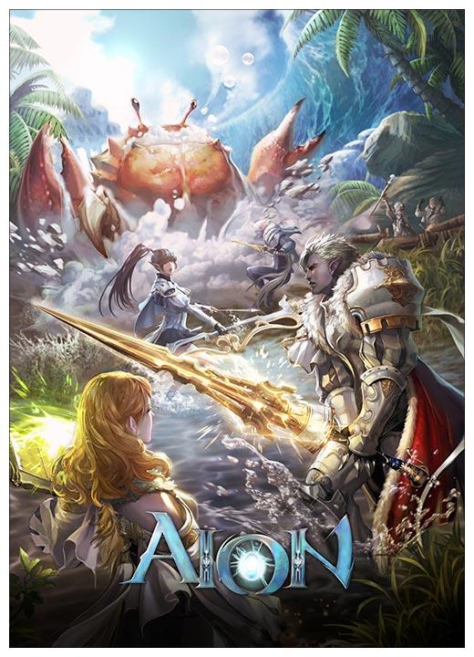 Панорамный постер Aion / Aion