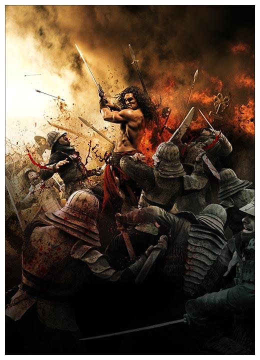 Панорамный постер Conan the Barbarian / Конан-варвар