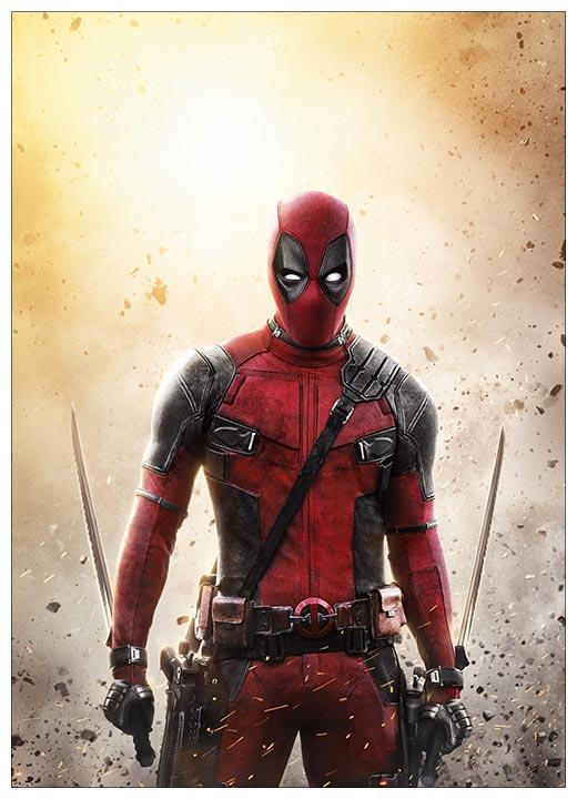 Панорамный постер Deadpool / Дэдпул
