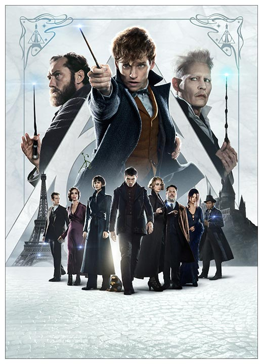 Панорамный постер Fantastic Beasts / Фантастические твари и где они обитают