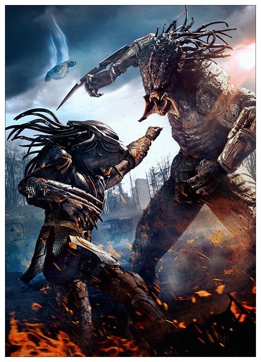 Панорамный постер Predator / Хищник