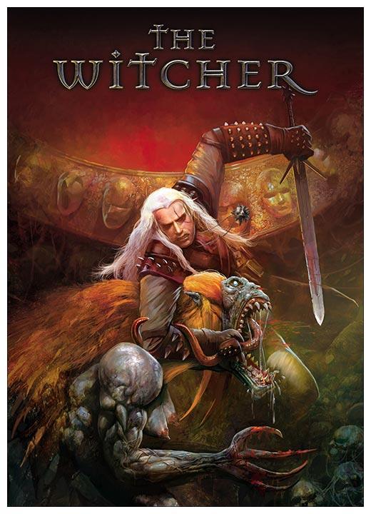 Панорамный постер Witcher / Ведьмак
