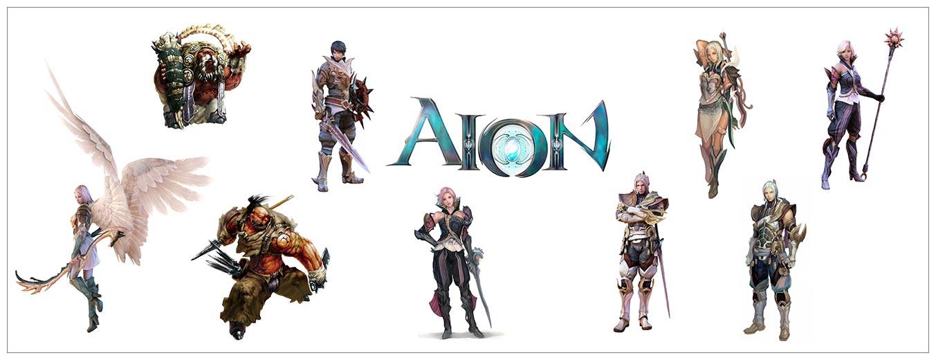 Подарочная обёртка для постеров Aion / Aion