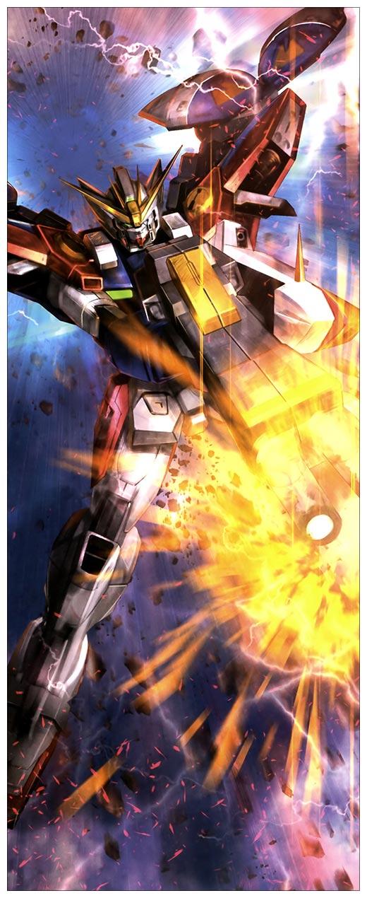 Подарочная обёртка для постеров Gundam / Mobile Suit Gundam / Мобильный воин ГАНДАМ / Kidou Senshi Gundam / 機動戦士ガンダム