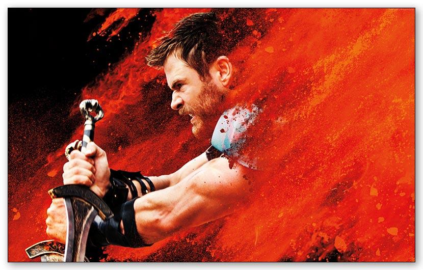 Магнит с металлическим отливом Thor / Тор