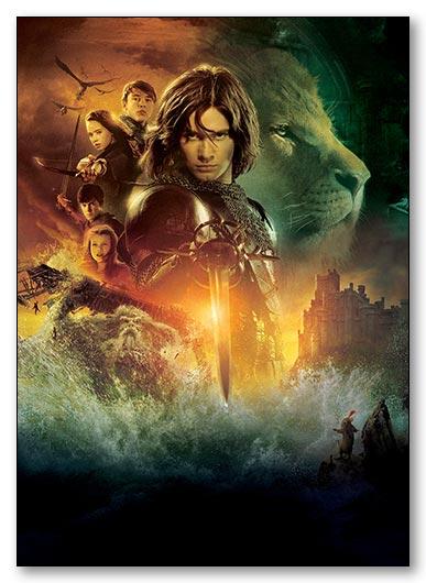 Универсальная наклейка Chronicles of Narnia / Хроники Нарнии