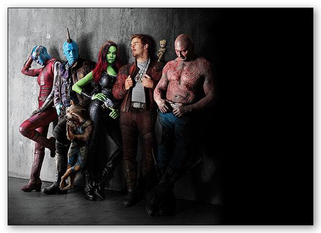 Универсальная наклейка Guardians of the Galaxy / Стражи Галактики