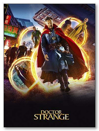Гибкий магнит (большой) Doctor Strange / Доктор Стрэндж