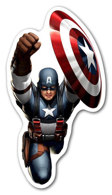 Фигурный магнит Captain America / Капитан Америка