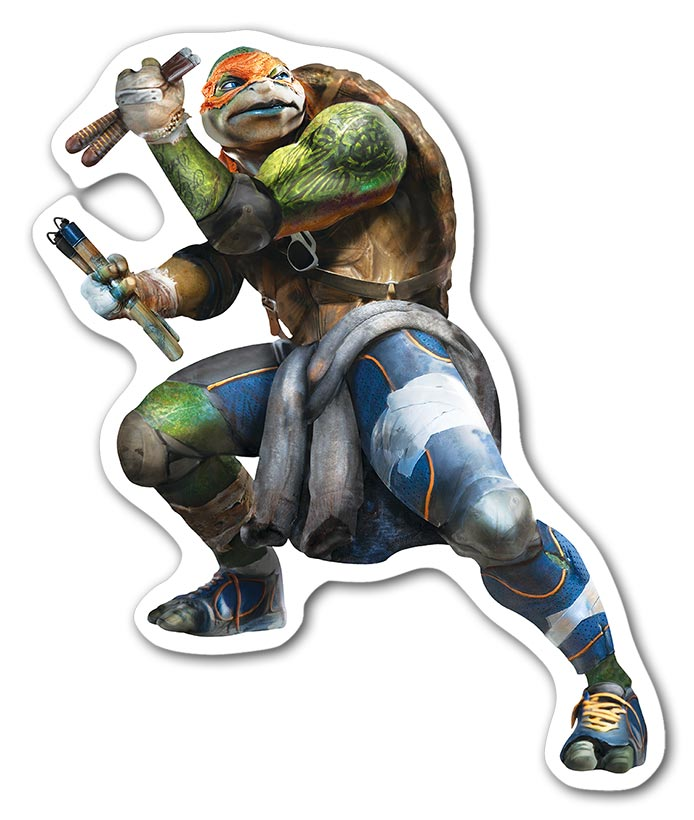 Фигурный магнит Ninja Turtles / Черепашки-ниндзя / Teenage Mutant Ninja Turtles