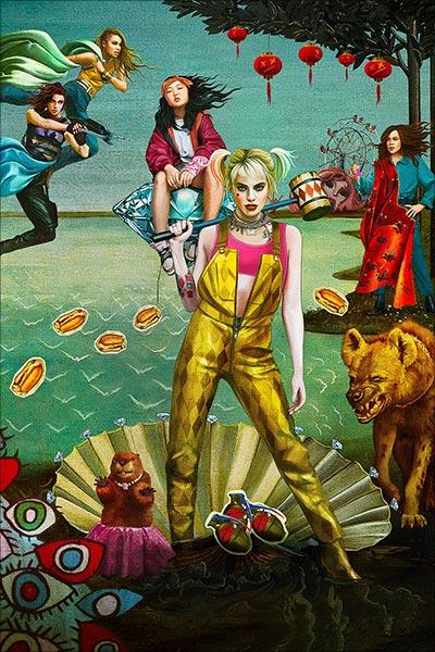 Почтовая открытка Harley Quinn / Харли Квинн