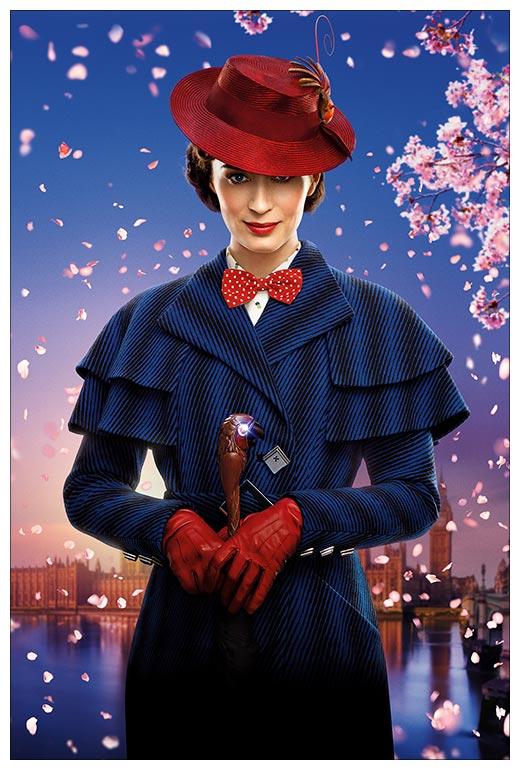 Тематическая открытка. Серия Floriant Mary Poppins / Мэри Поппинз