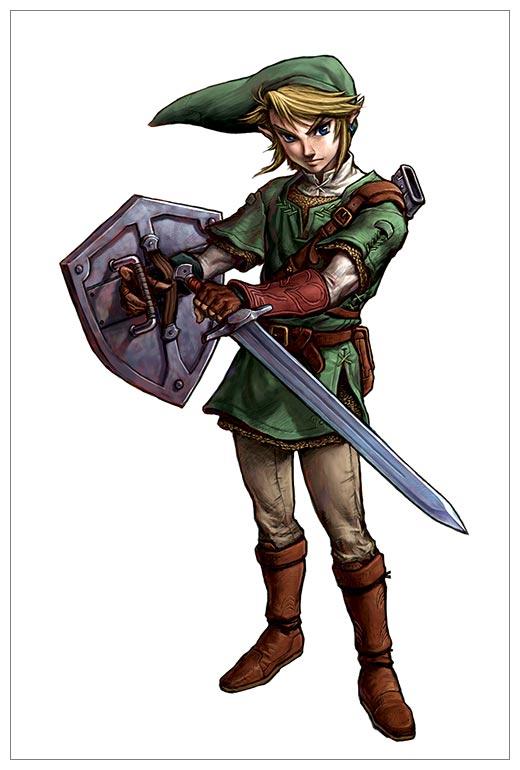 Тематическая открытка. Серия Picante Legend of Zelda / Legend of Zelda