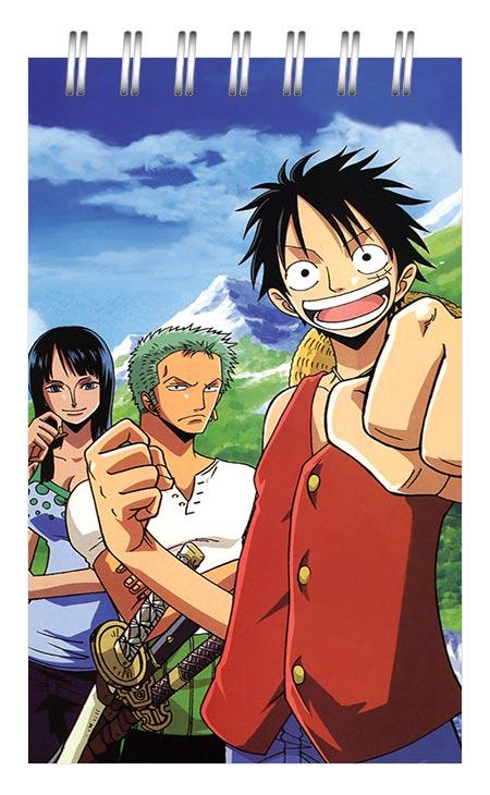 Маленький универсальный блокнот One Piece / Ван-Пис / Ван Пис / Wanpiisu / ワンピース