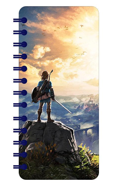 Записная книжка в аметистовой гамме (101 лист) Legend of Zelda / Легенда о Зельде