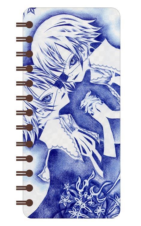 Записная книжка в бирюзовой гамме (71 лист) Chalk Karasu Illustrations / Арт Чалк Карасу