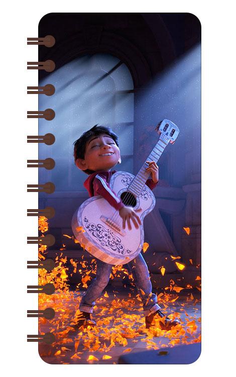 Записная книжка в бирюзовой гамме (71 лист) Coco / Тайна Коко