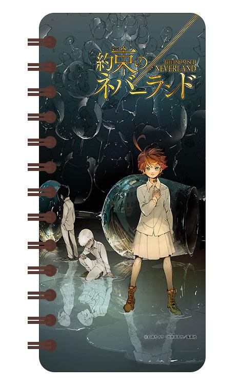 Записная книжка в бирюзовой гамме (71 лист) Yakusoku no Neverland / Обещанный Неверленд