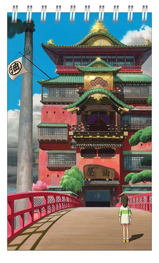Универсальный блокнот Spirited Away / Унесённые призраками / Sen to Chihiro no Kamikakushi / 千と千尋の神隠し