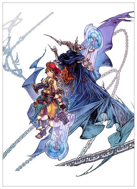 Школьный блокнот Final Fantasy / Последняя фантазия