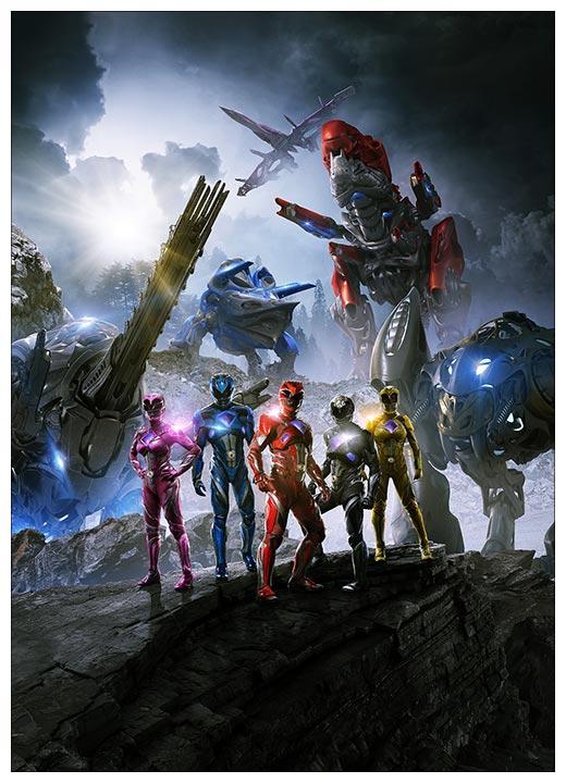Школьный блокнот Power Rangers / Могучие рейнджеры