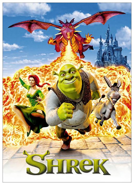 Школьный блокнот Shrek / Шрек