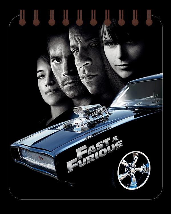 Кофейный блокнот Fast and the Furious / Форсаж