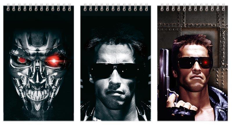 Набор маленьких блокнотов Terminator / Терминатор
