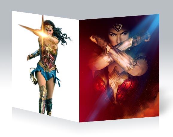 Школьная тетрадь Wonder Woman / Чудо-женщина