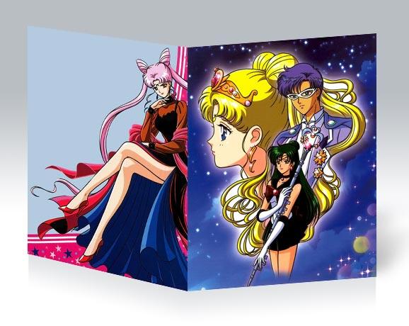Тонкая школьная тетрадь Sailor Moon / Красавица-воин Сейлор Мун / Bishoujo Senshi Sailor Moon / 美少女戦士セーラームーン