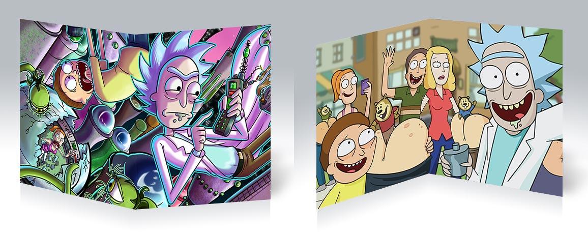 Тетрадь для конспектов Rick and Morty / Рик и Морти