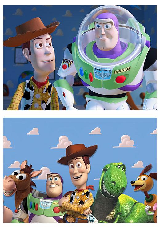 Школьный альбом для рисования Toy Story / История игрушек
