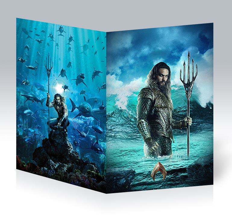Студенческая тетрадь Aquaman / Аквамен