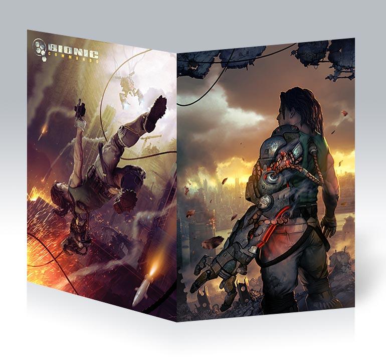 Студенческая тетрадь Bionic Commando / Bionic Commando