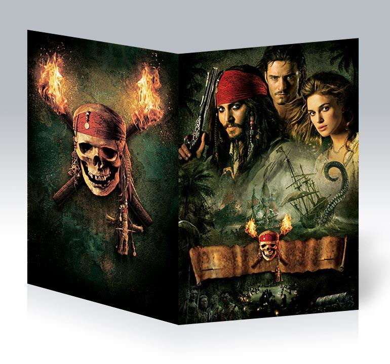 Студенческая тетрадь Pirates of the Caribbean / Пираты карибского моря