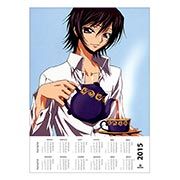 Настенный календарь по Code Geass: Hangyaku no Lelouch