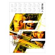 Настенный календарь Fast and the Furious