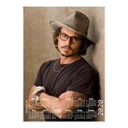 Настенный календарь Johnny Depp