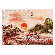 Настенный календарь по Okami