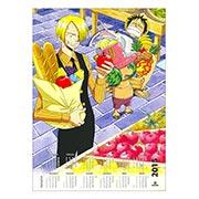 Настенный календарь по One Piece